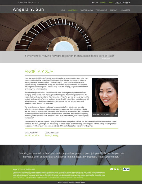 Law Offices of Angela Y. Suh