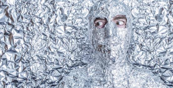 Aluminum Foil Man
